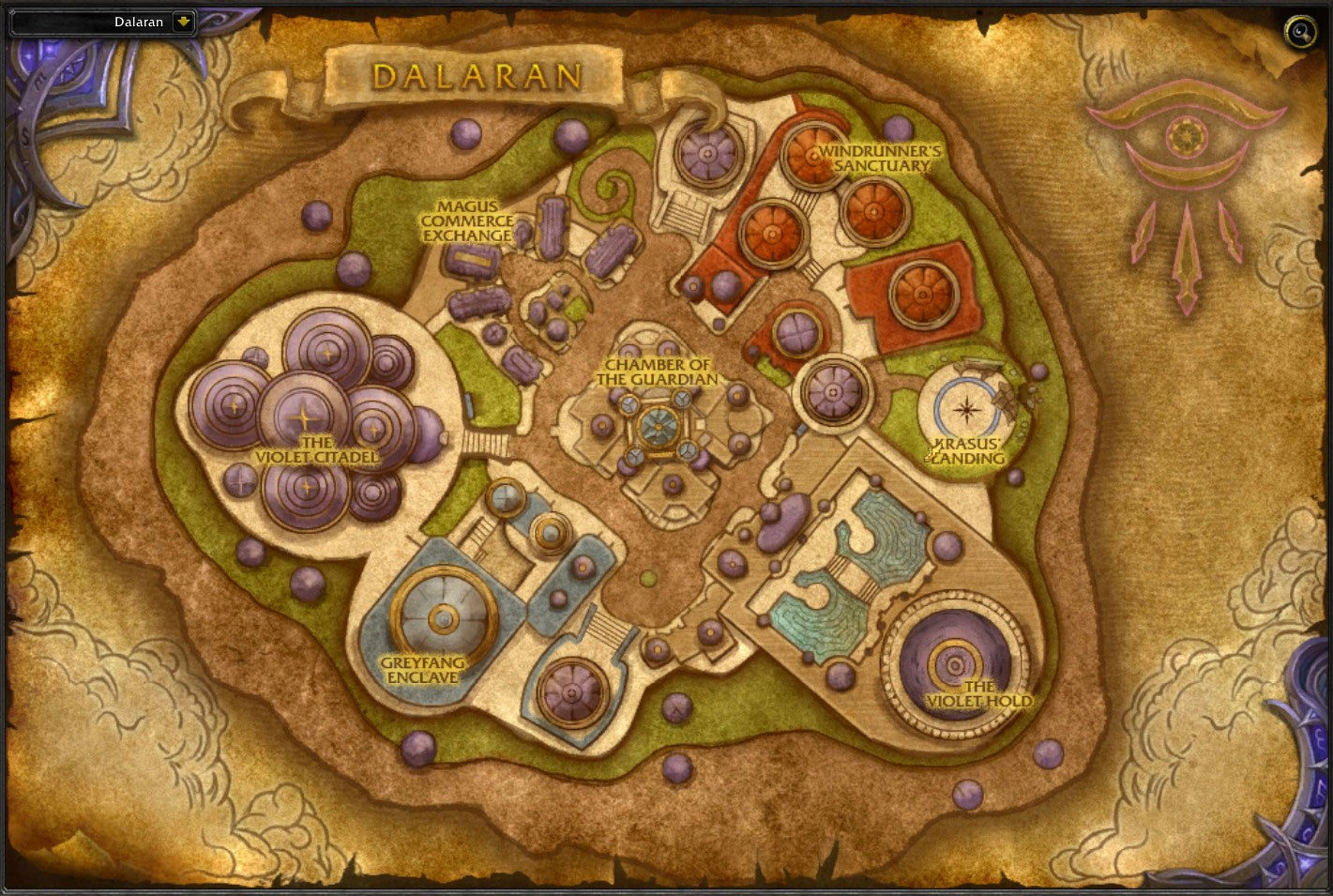 Где даларан в игре world of warcraft